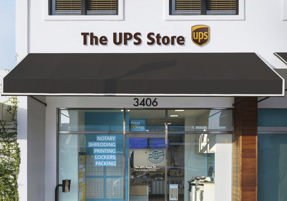 The UPS Store Storefront